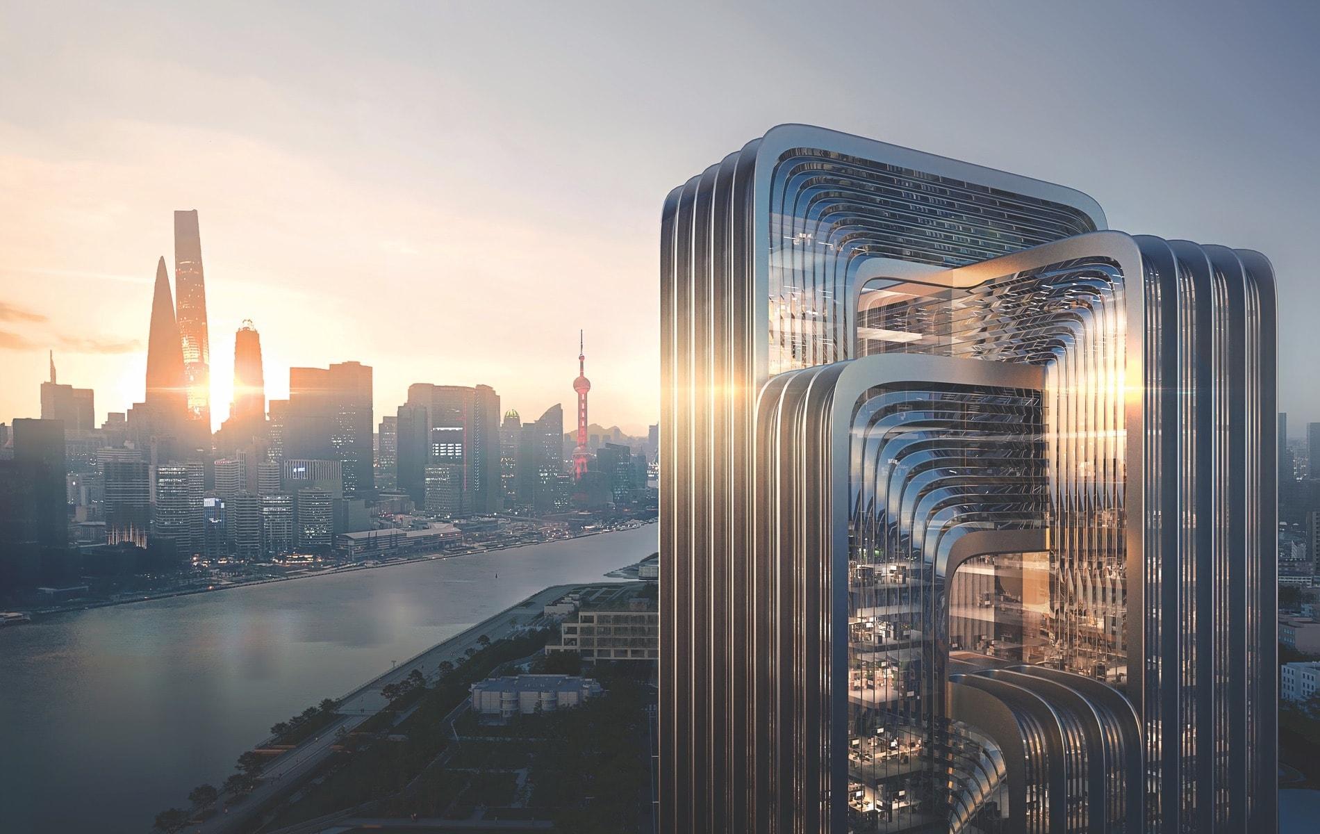 Negativ, Zaha Hadid Architects, China Energy Conservation and Environmental Protection Group, Three Star Green Building Rating