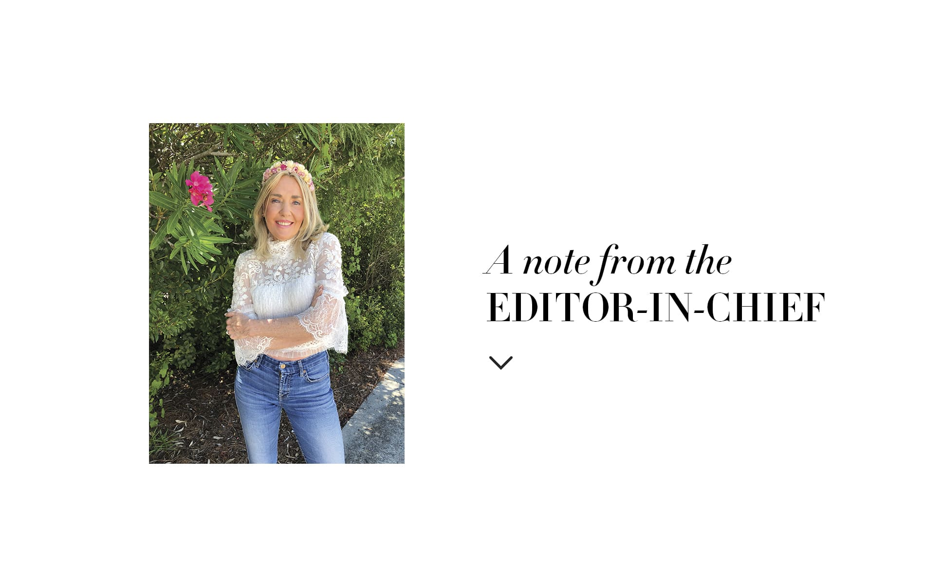 VIE Magazine, The Idea Boutique, Lisa Burwell, Lisa Marie Burwell, Editors Note, Editor in Chief note