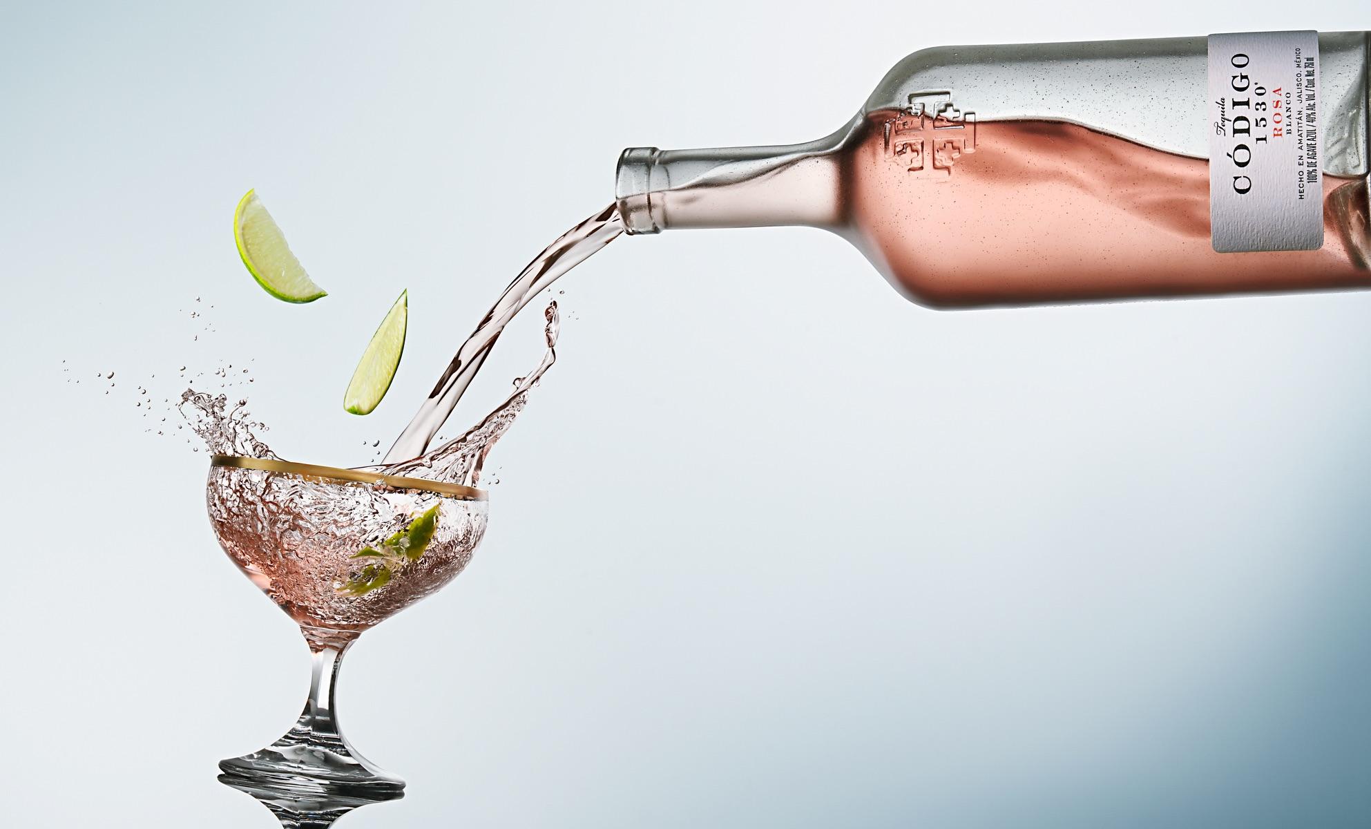 Código 1530 Rosa Tequila Recipes for National Tequila Day 2020