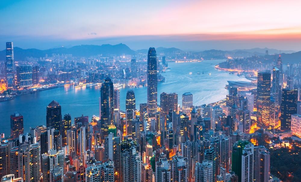 VIE magazine blog webcams at famous places Hong Kong China Skyline Aerial