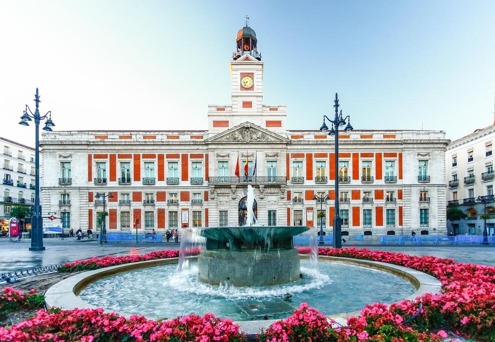 VIE magazine blog webcams at famous places Puerta del Sol Madrid Spain