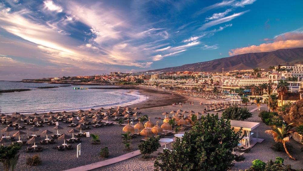 VIE magazine blog webcams at famous places Playa de Troya Tenerife Spain Canary Islands