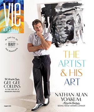 VIE Magazine August 2020 Art & Culture Issue, Nathan Alan Yoakum Art