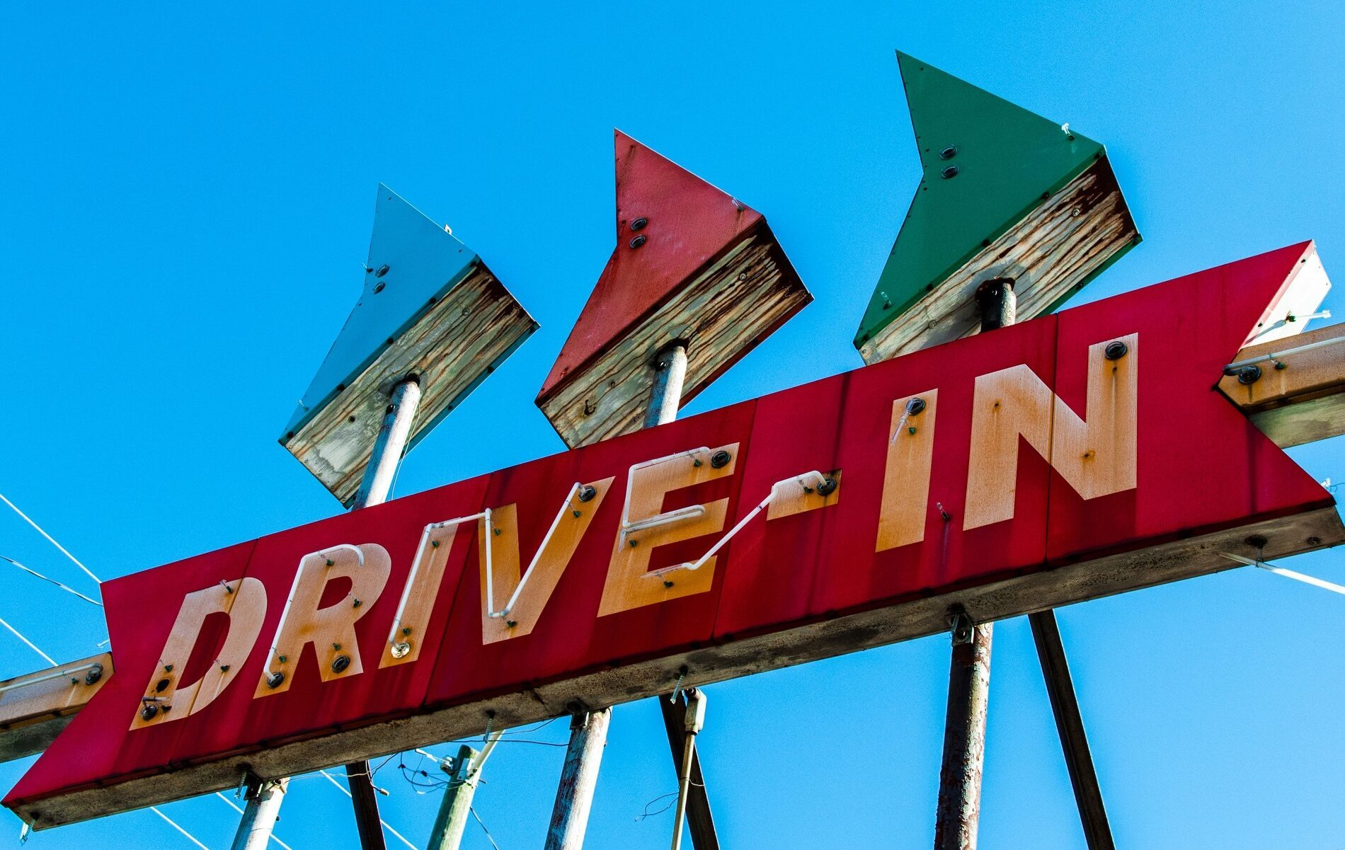Vintage Drive-in Sign