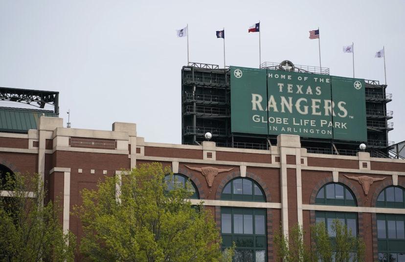 Texas Rangers Globe Life Park Arlington TX Drive-in Concert