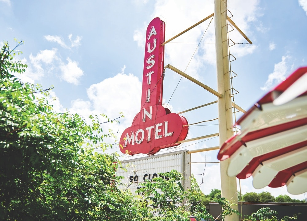 Austin Motel, Retro Hotel, Retro Hotel Revival