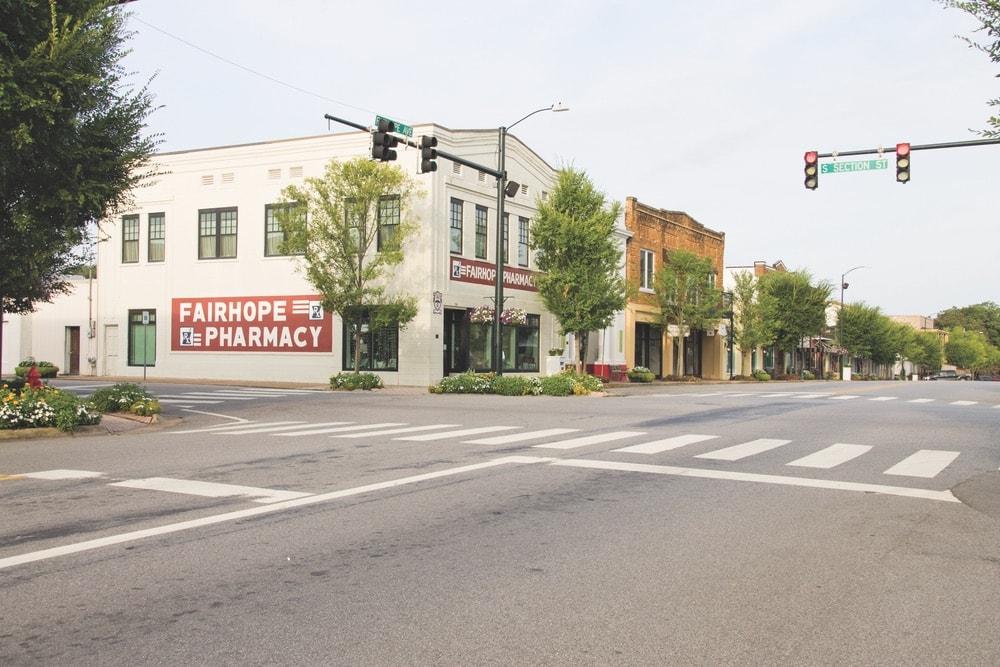 Downtown Fairhope, Fairhope, Fairhope Alabama, Fairhope Pharmacy, City of Fairhope