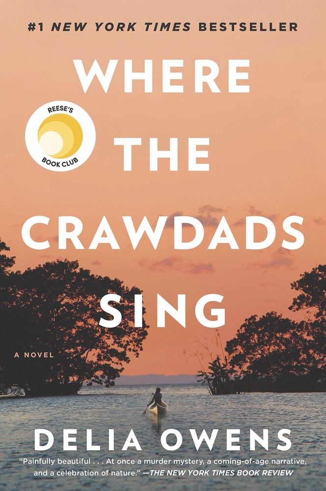 VIE Staff Book Recommendations, Summer Reading, Where the Crawdads Sing by Delia Owens, Hannah Vermillion