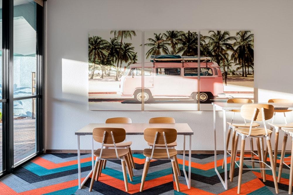 Beachside Hotel & Suites, Retro Hotel, Retro Hotel Revival