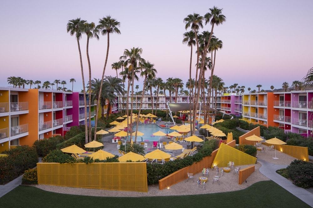 Saguaro Hotel, Saguaro Hotel Palm Springs, Retro Hotel, Retro Hotel Revival