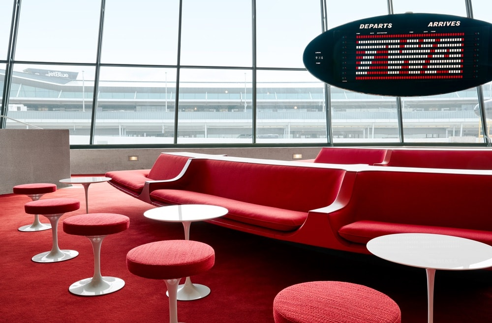 TWA Hotel, 1966 Terminal 5, JFK International Airport, Retro Hotel, Retro Hotel Revival