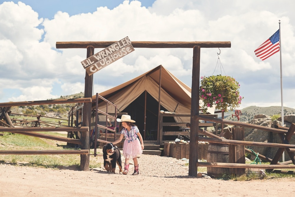 Go West to Lil Wrangler Clubhouse at Brush Creek Ranch