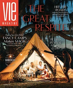 VIE Magazine September 2020 Wanderlust Issue, Fancy Camps, The Idea Boutique