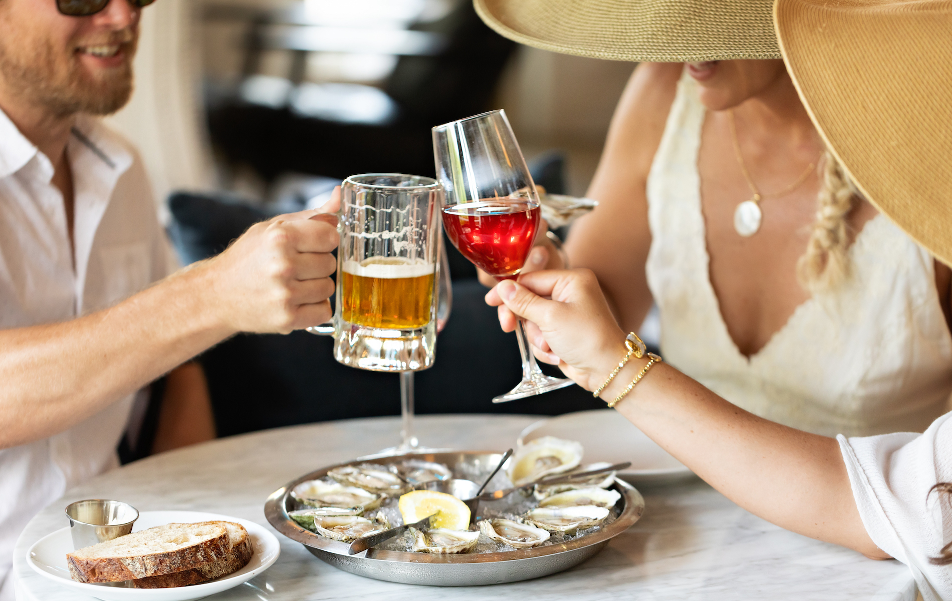 Black Bear Bar Room's Oysters and Wine