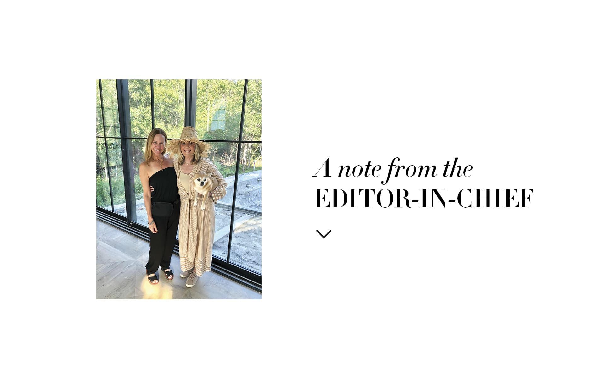 VIE Magazine Editor in Chief Lisa Marie Burwell, Lisa Burwell, Suzy Accola, Q Tile, VIE Beach House A Show Home