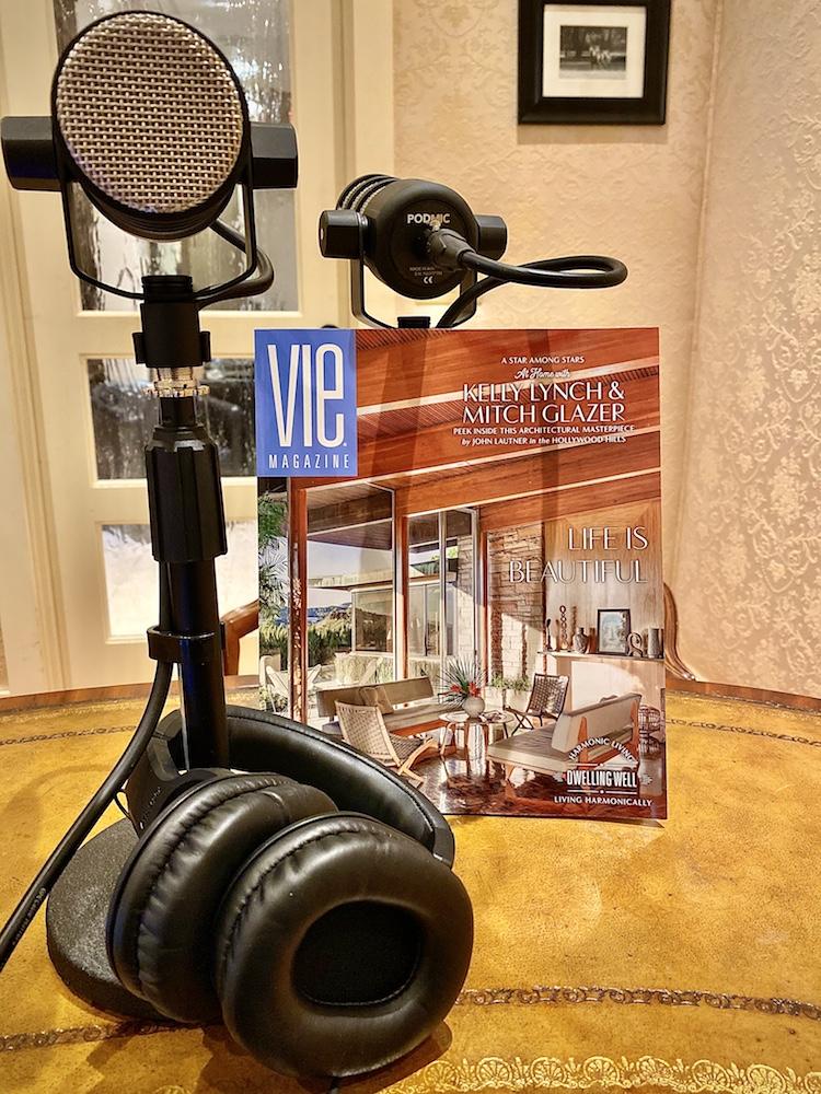 VIE Speaks, Vie Magazine, VIE Think Out Loud, Lisa Burwell, AlohaBora Media, podcast, recording