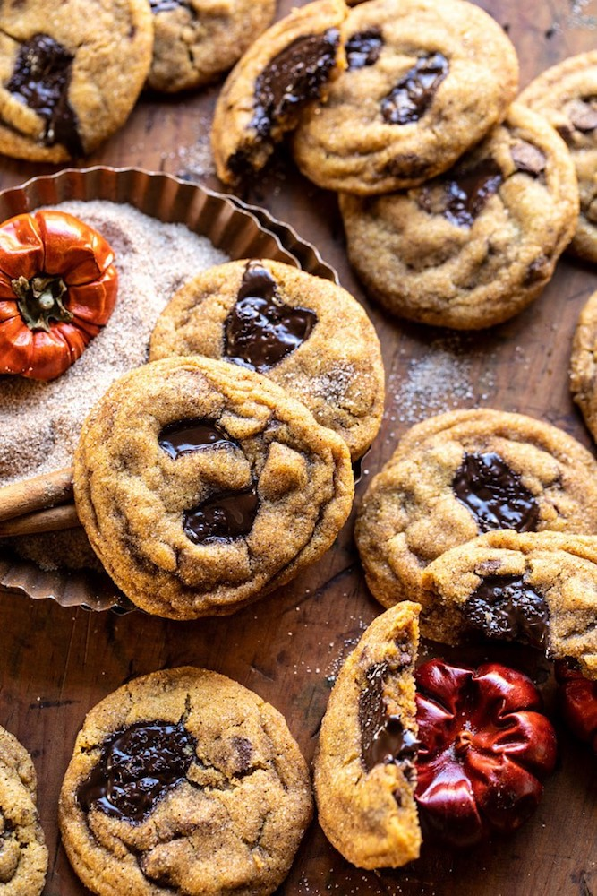 Half Baked Harvest Pumpkin-Butter-Chocolate-Chip-Cookies