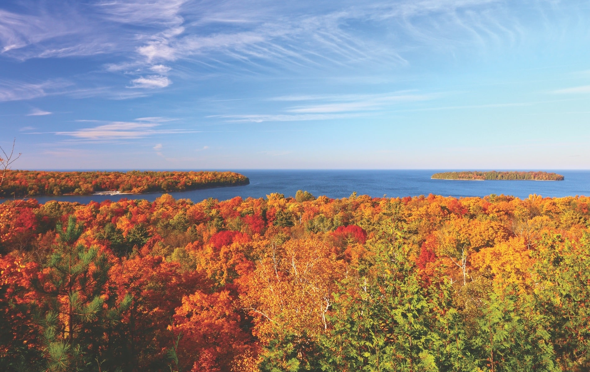 Destination Door County, Door Peninsula, Fall Foliage Destinations