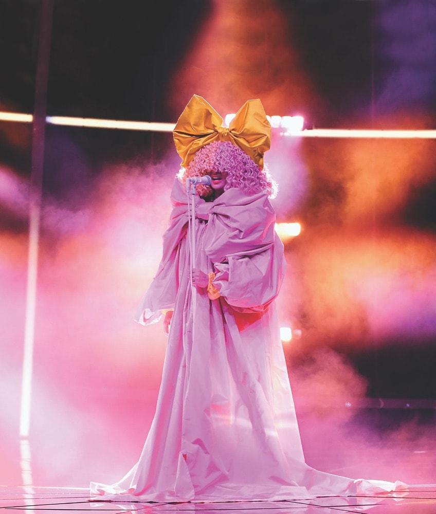 Sia, 2020 Billboard Music Awards, Billboard Music Awards, Dolby Theatre, Dick Clark Productions