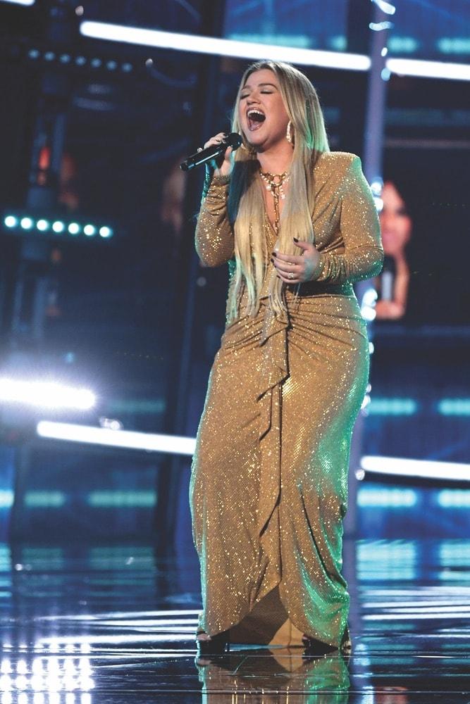 Kelly Clarkson, 2020 Billboard Music Awards, Billboard Music Awards, Dolby Theatre, Dick Clark Productions
