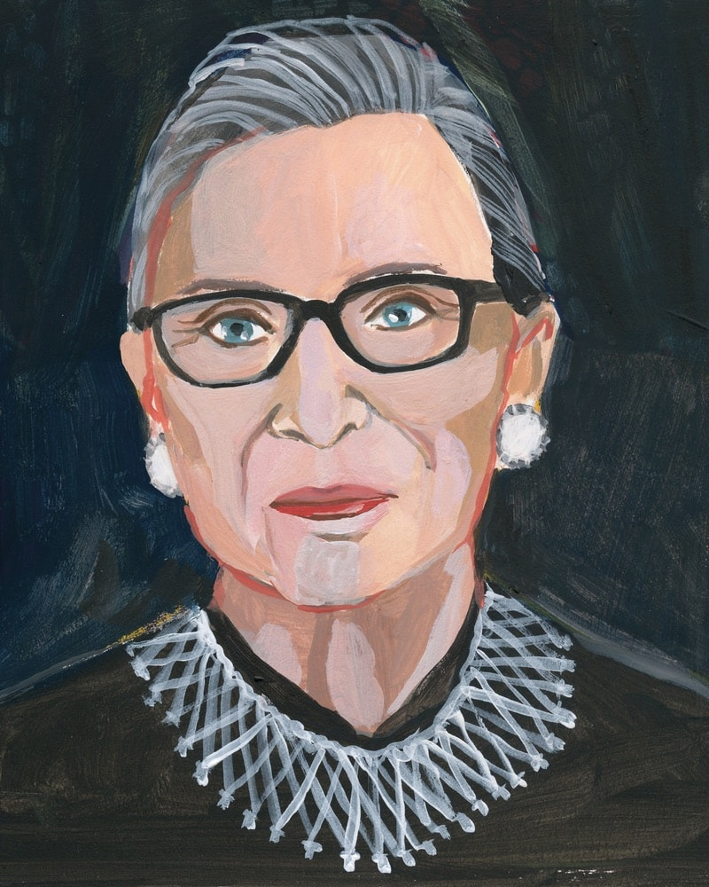 Ruth Bader Ginsburg, Justice Ruth Bader Ginsburg, Gayle Kabaker, Vital Voices: 100 Women Using Their Power to Empower