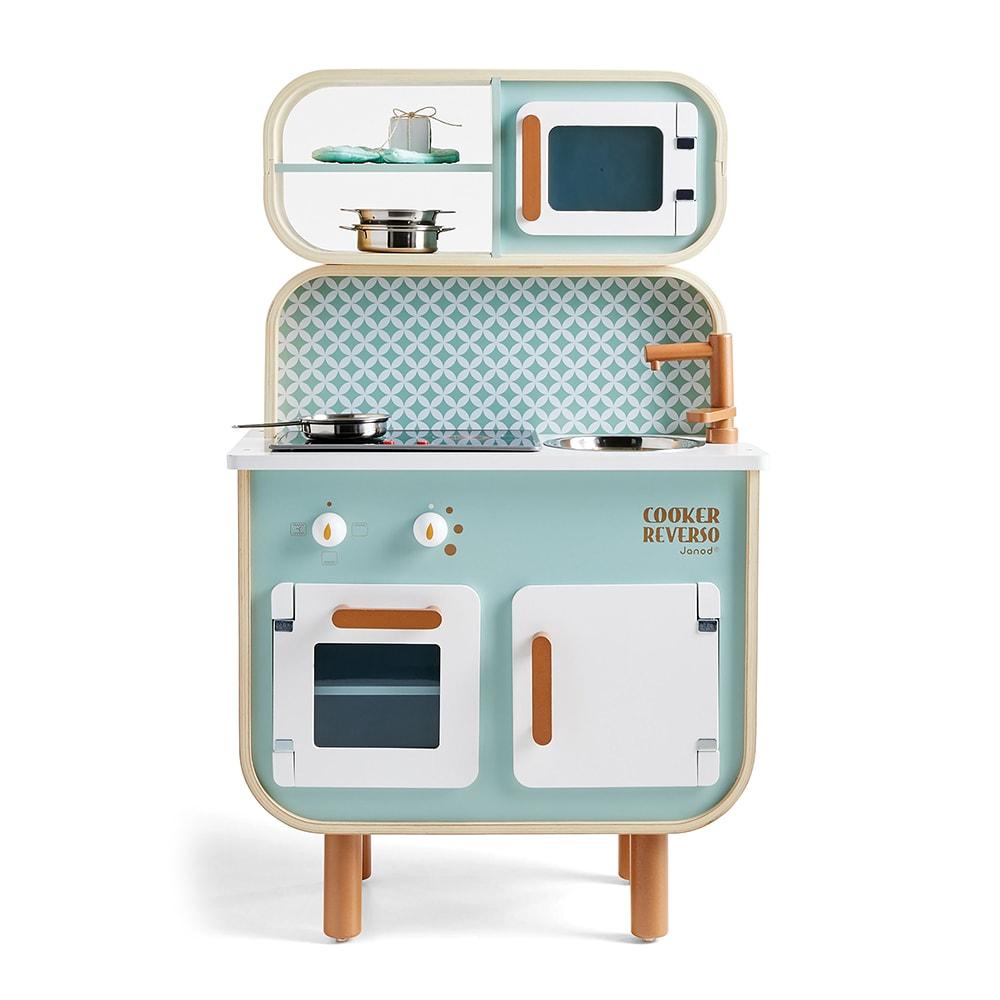 Crate & Barrel, Crate & Kids Janod Cooker Reverso, VIE Magazine, C'est la VIE Curated Collection