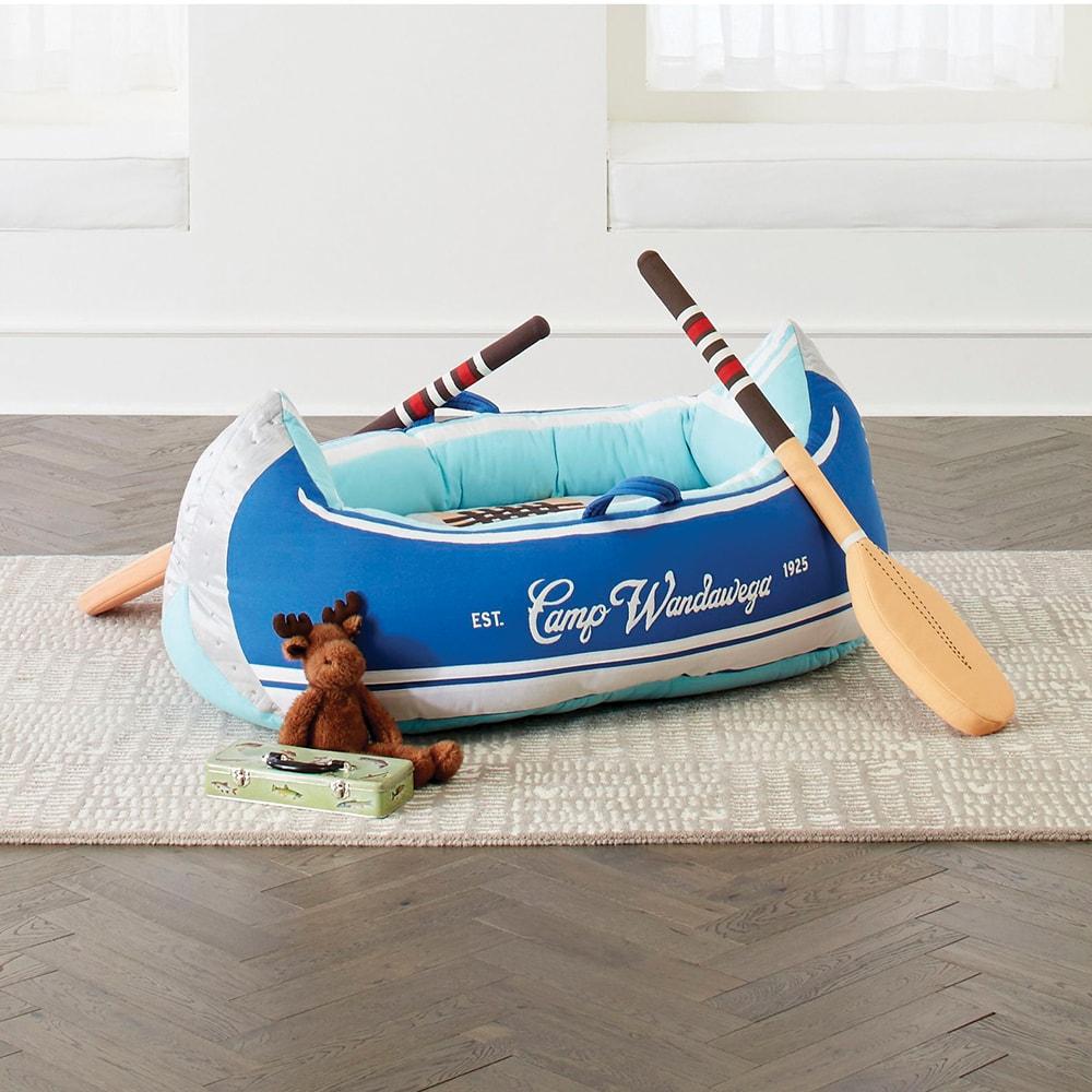 Crate & Barrel, Crate & Kids Camp Wandawega Plush Canoe, VIE Magazine, C'est la VIE Curated Collection