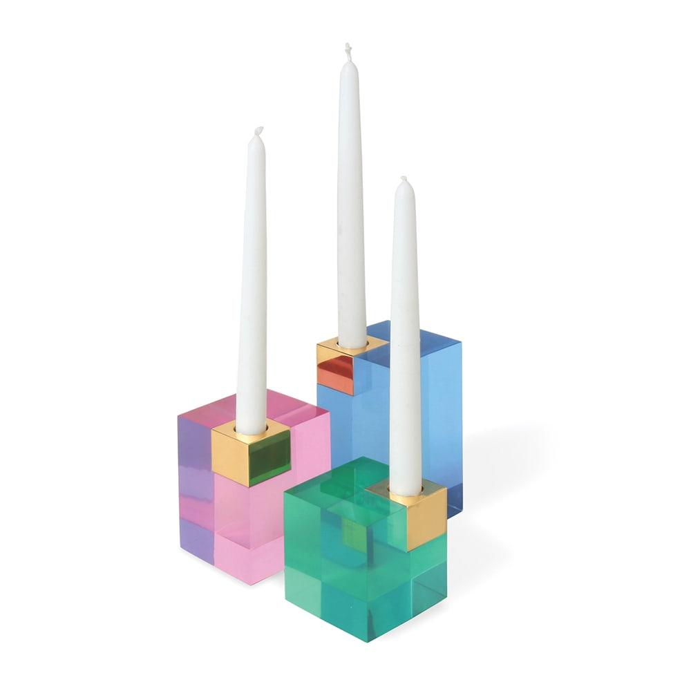 Jonathan Adler Monte Carlo Candle Holders, VIE Magazine, C'est la VIE Curated Collection