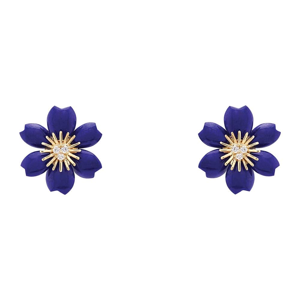 Van Cleef & Arpels Rose de Noël Earrings, VIE Magazine, C'est la VIE Curated Collection
