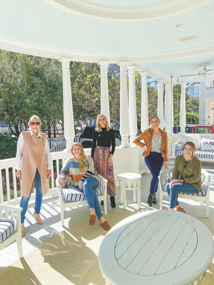 Lisa Marie Burwell, Jordan Staggs, Tracey Thomas, Samantha Accola, Amanda Salucci