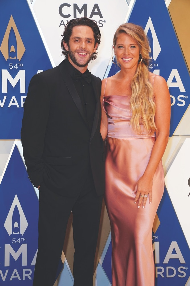 Thomas Rhett, Lauren Akins, Country Music Association, Music City Center, 54th Annual Country Music Association Awards, CMA Awards