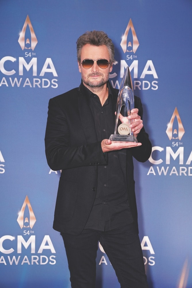 Eric Church, Country Music Association, Music City Center, 54th Annual Country Music Association Awards, CMA Awards