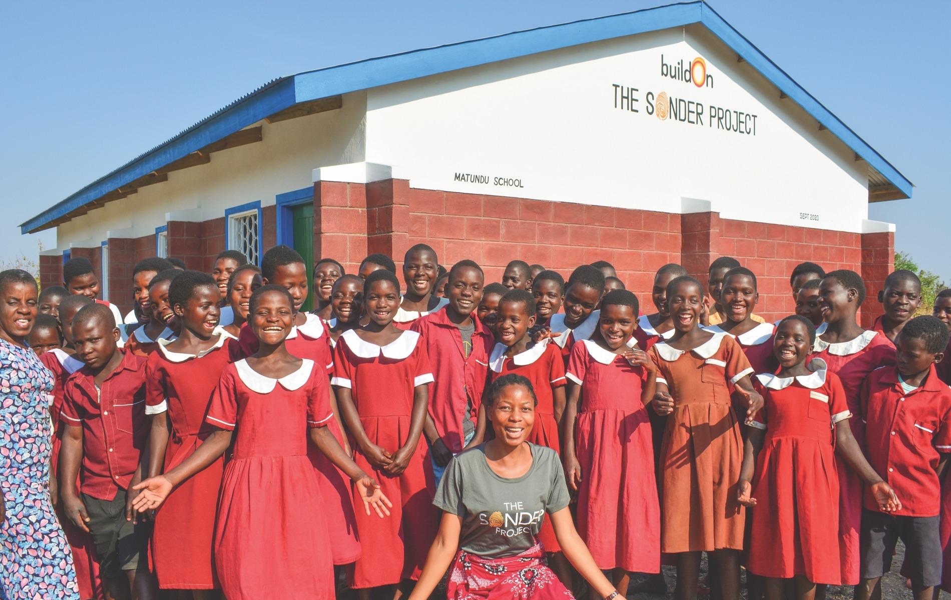 The Sonder Project, Build On, Malawi, Burkina Faso, Matundu School