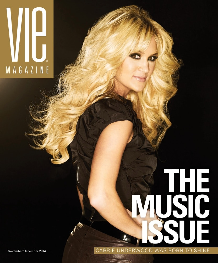 VIE Magazine, Stories with Heart and Soul, The Idea Boutique, Carrie Underwood