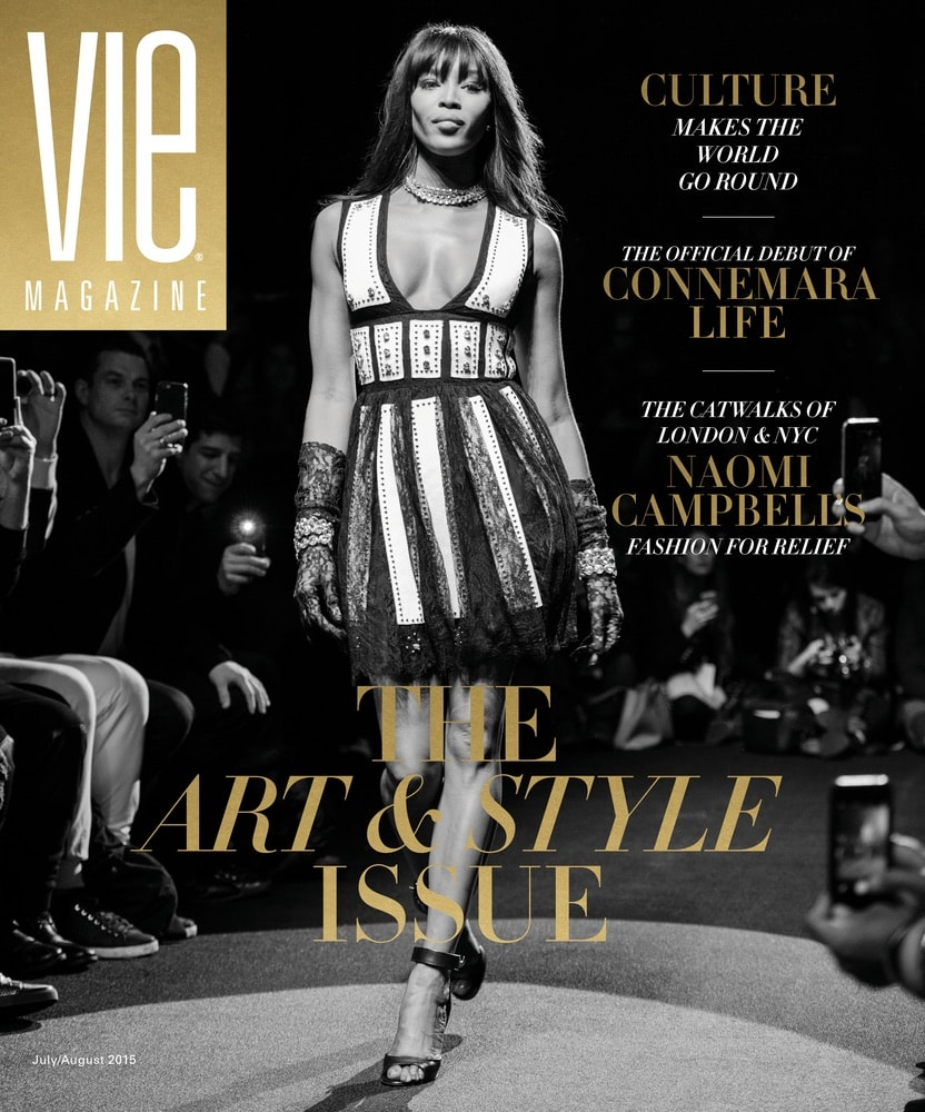 VIE Magazine, Stories with Heart and Soul, The Idea Boutique, NYFW, Naomi Campbell, Fashion for Relief