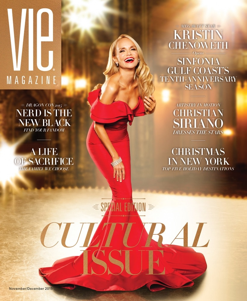 VIE Magazine, Stories with Heart and Soul, The Idea Boutique, Christian Siriano, Kristin Chenoweth