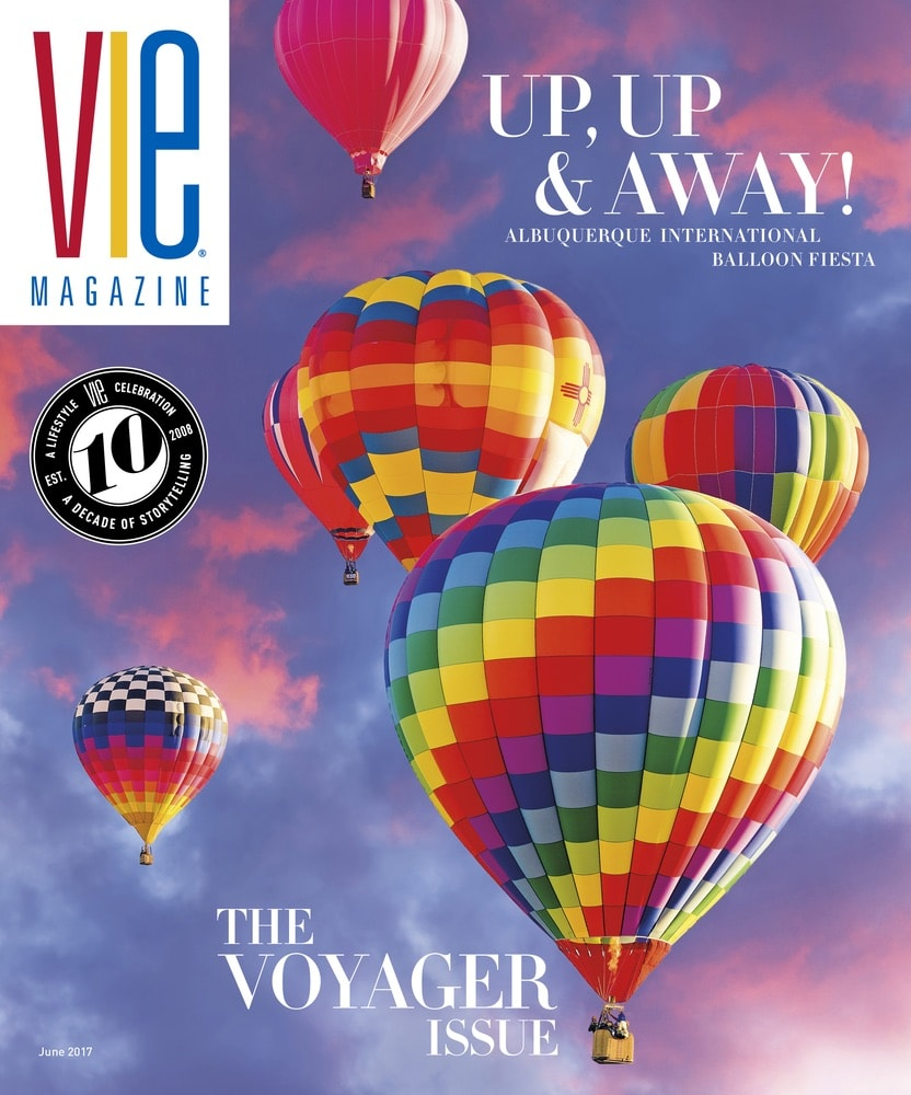 VIE Magazine, Stories with Heart and Soul, The Idea Boutique, Albuquerque International Balloon Fiesta