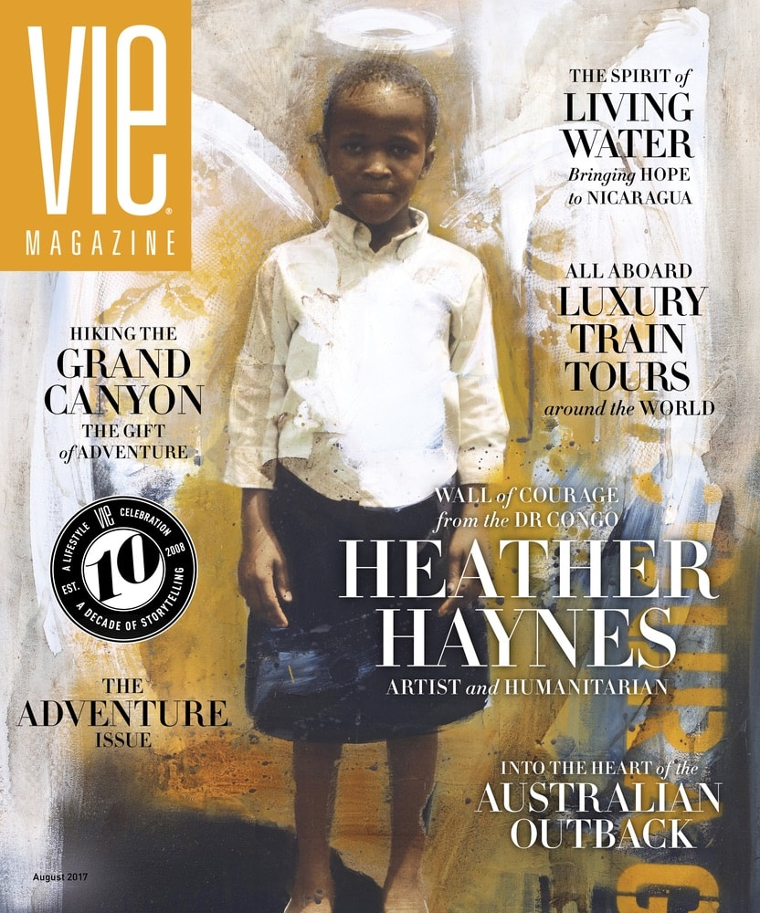 VIE Magazine, Stories with Heart and Soul, The Idea Boutique, Heather Haynes, Wall of Courage