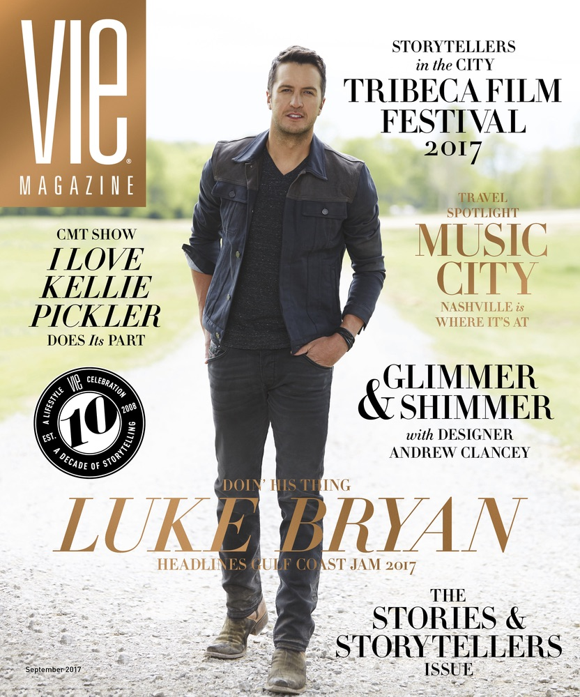 Luke Bryan, VIE Magazine, Stories with Heart and Soul, The Idea Boutique