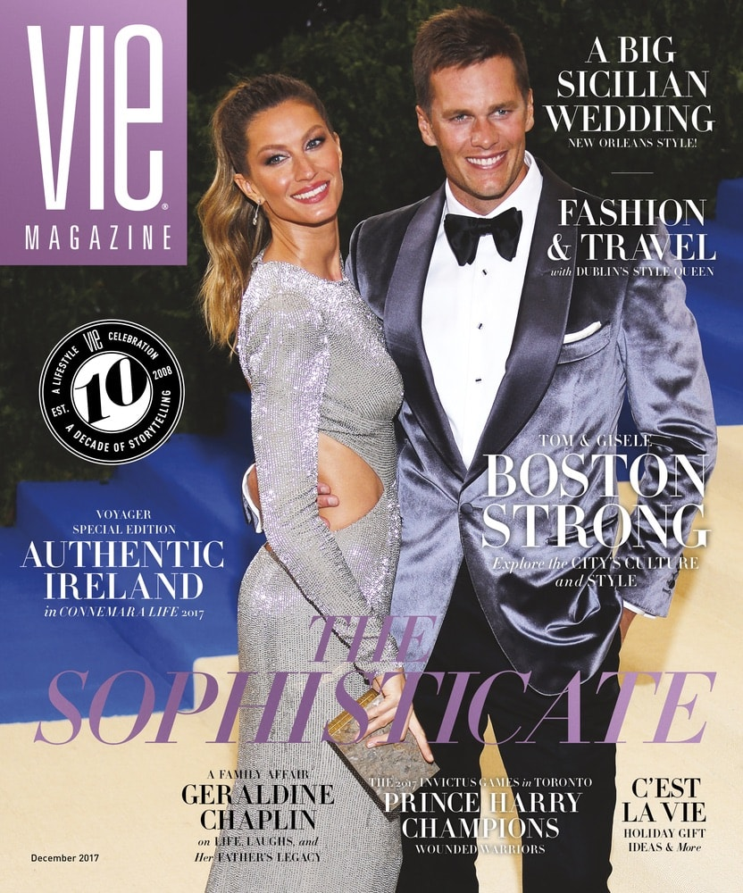 VIE Magazine, Stories with Heart and Soul, The Idea Boutique, Tom Brady
