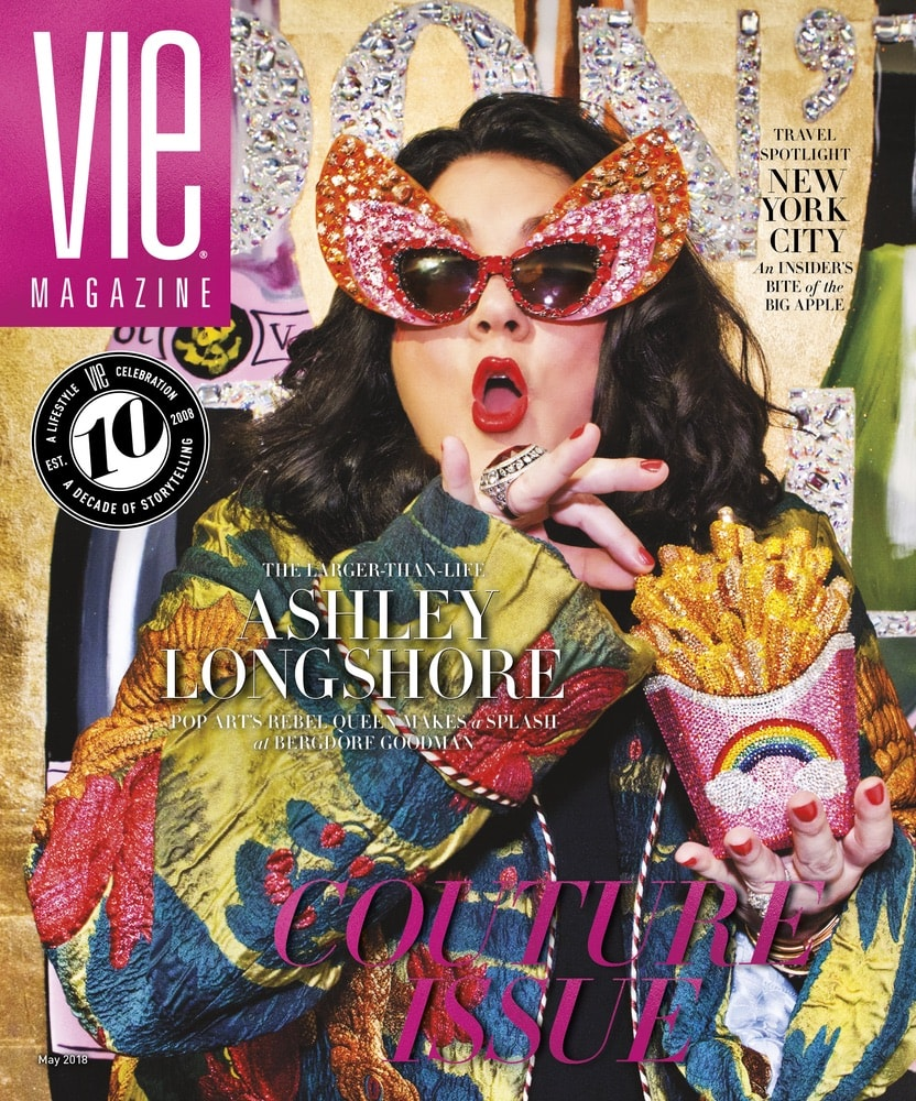 VIE Magazine, Stories with Heart and Soul, The Idea Boutique, Ashley Longshore, Bergdorf Goodman