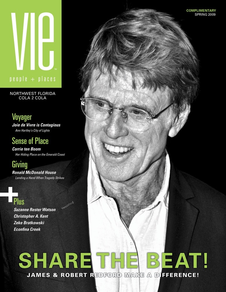 VIE Magazine, Stories with Heart and Soul, The Idea Boutique, Robert Redford