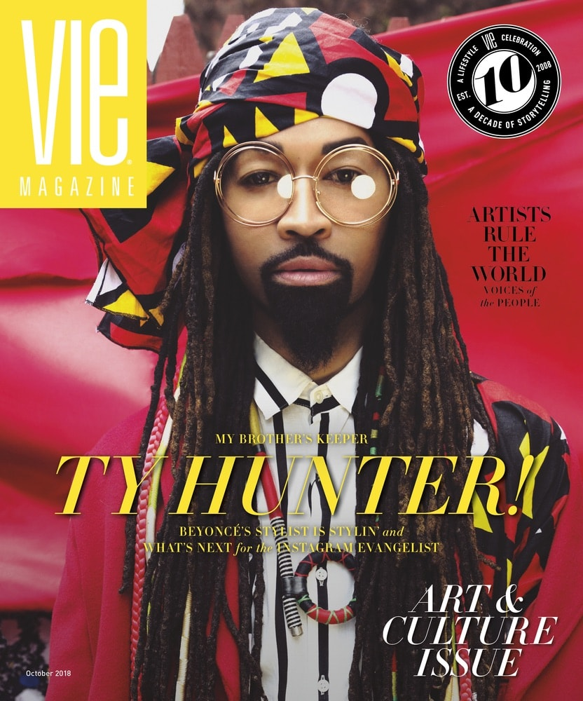 VIE Magazine, Stories with Heart and Soul, The Idea Boutique, Ty Hunter