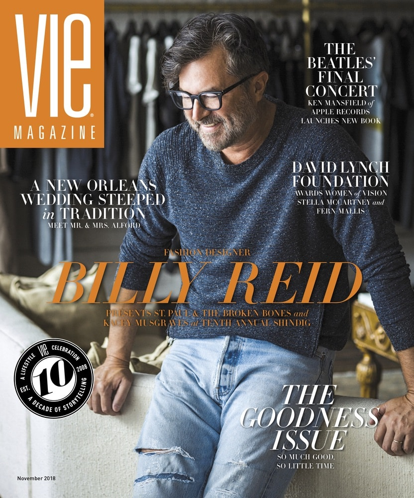 VIE Magazine, Stories with Heart and Soul, The Idea Boutique, Billy Reid