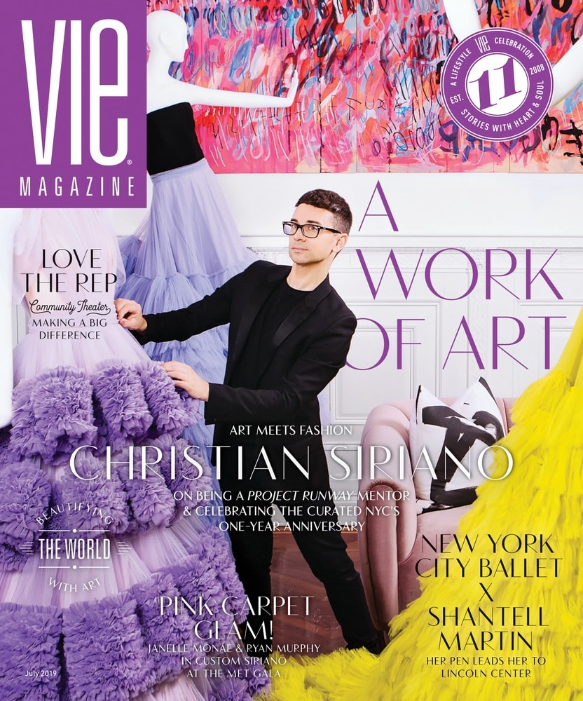 VIE Magazine, Stories with Heart and Soul, The Idea Boutique, Christian Siriano, The Curated NYC