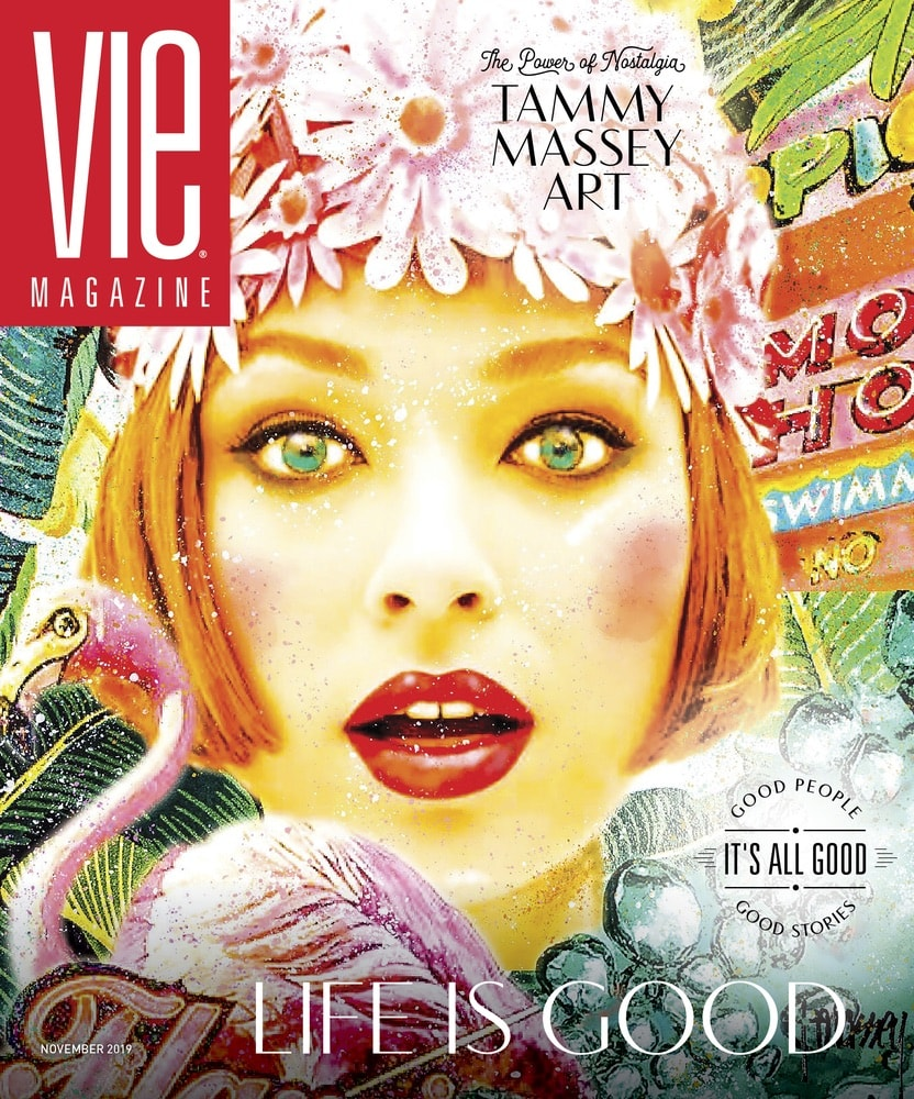VIE Magazine, Stories with Heart and Soul, The Idea Boutique, Tammy Massey Art