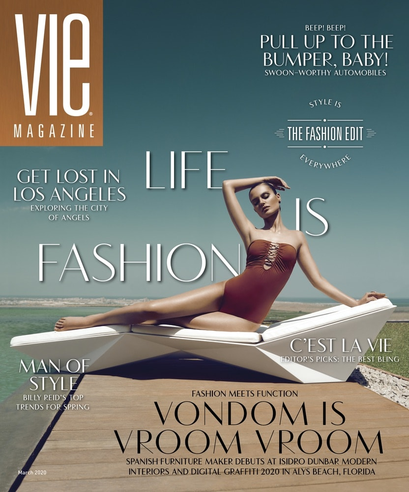 VIE Magazine, Stories with Heart and Soul, The Idea Boutique, VONDOM, isidro dunbar Modern Interiors