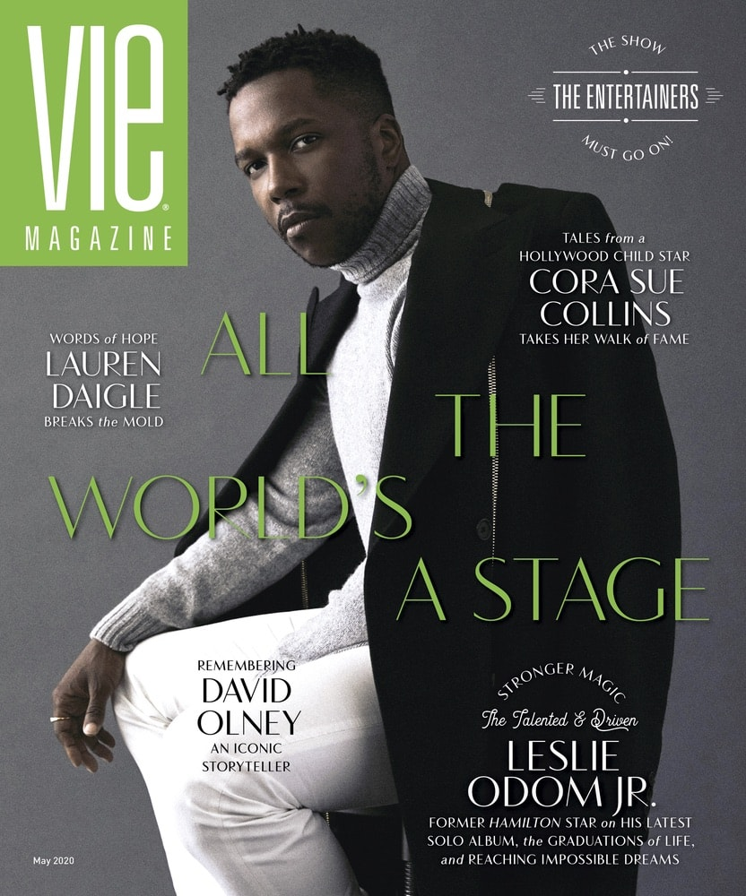 VIE Magazine, Stories with Heart and Soul, The Idea Boutique, Leslie Odom Jr