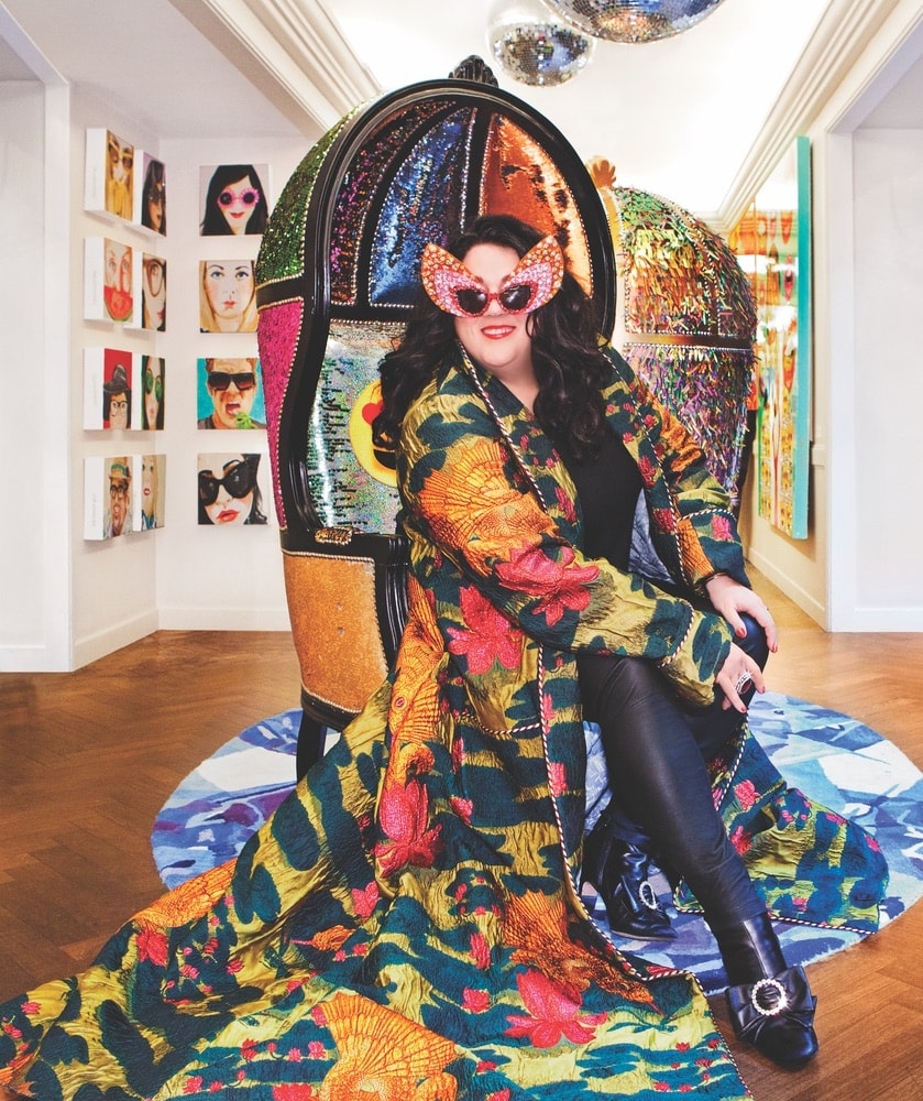 Ashley Longhsore, Bergdorfs, Bergdorf Goodman, Ashley Longshore Art
