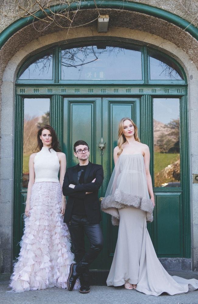 Christian Siriano, Ballynahinch Castle Hotel, Connemara Life, Surell Accessories